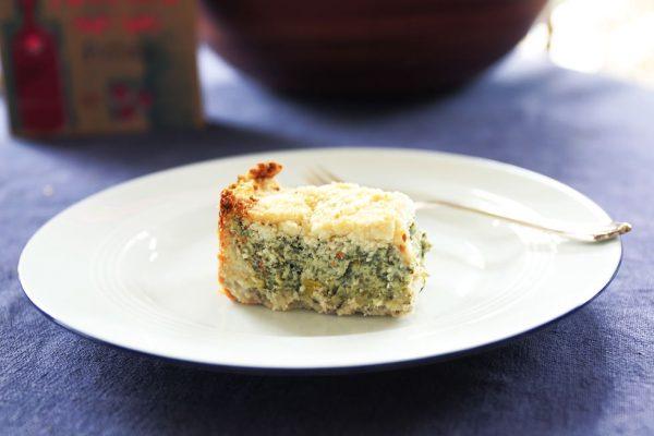 Kräuter-Ziegenfrischkäse-Torte