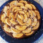 Apfel-Nusskuchen