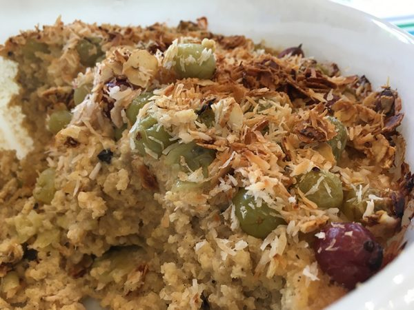 Millet-Casserole with Berries